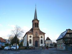 Eglise St Léger à Kogenheim